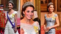 凱特6套高衣Q穿搭術!用時尚外交展現女王風範