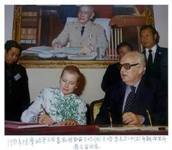 《世紀之握》許捷芳攝影展 見證外交四十年