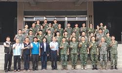 韓慰勞八軍團指揮部