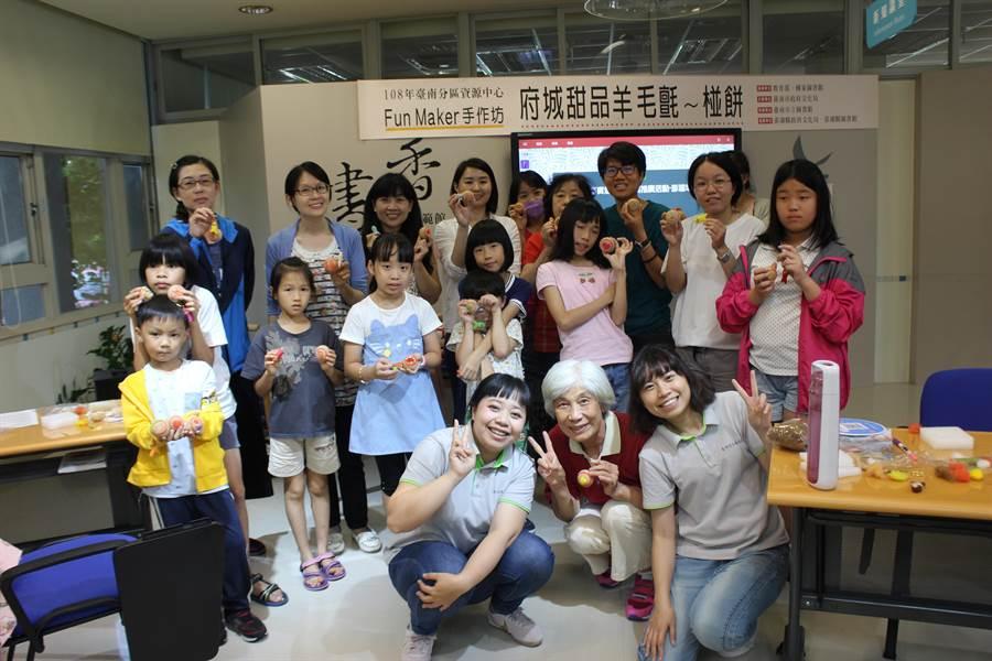 台南市立圖書館結合台南分區資源中心特色館藏「文化創意」辦理系列活動,化身「什麼都有圖書館」,6月1日正式開張。(台南市立圖書館提供)