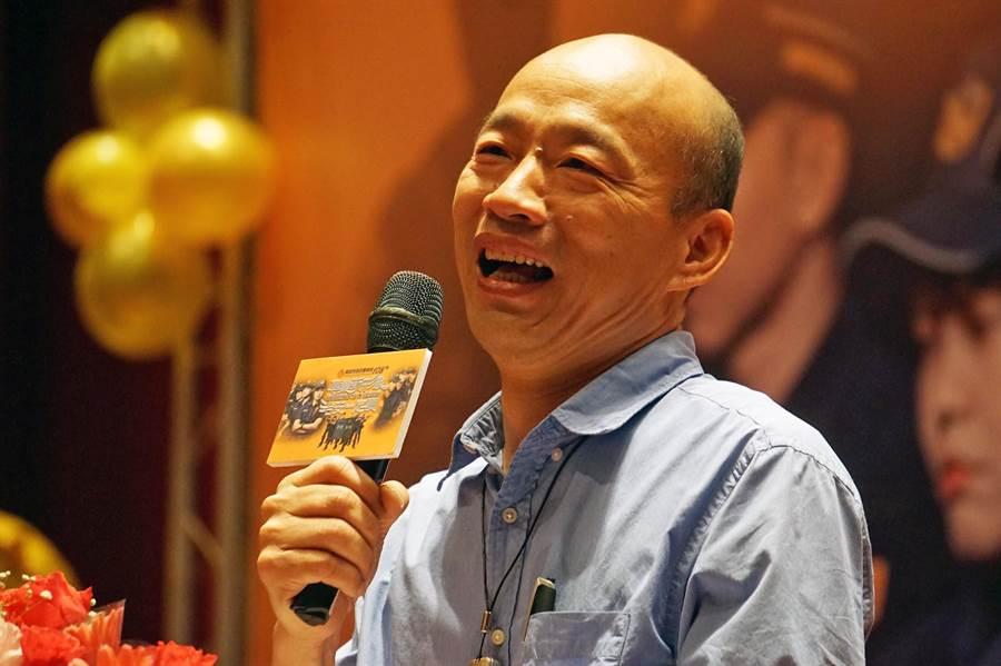 高雄市長韓國瑜6日重申,對於初選的態度沒變過,「寧願乾淨輸掉選輸,也不要骯髒贏得選舉」。(柯宗緯攝)