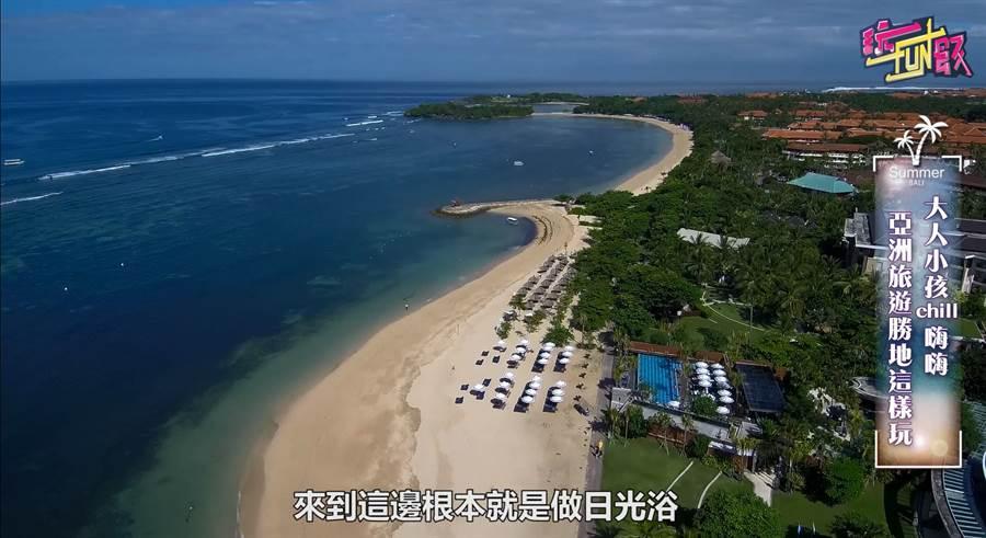 Club Med Bali 空拍美景