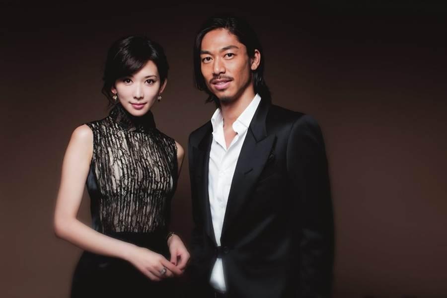 林志玲震撼闪嫁Akira。(取自Akira脸书)