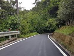 保障用路人安全!石碇區豐彭道路及深按道路路平了