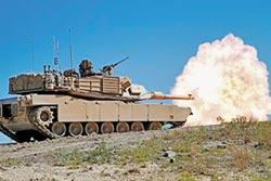 美售台108輛M1A2坦克 陸恐跳腳