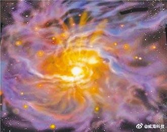 捕捉星際暗雲 陸首見恆星誕生