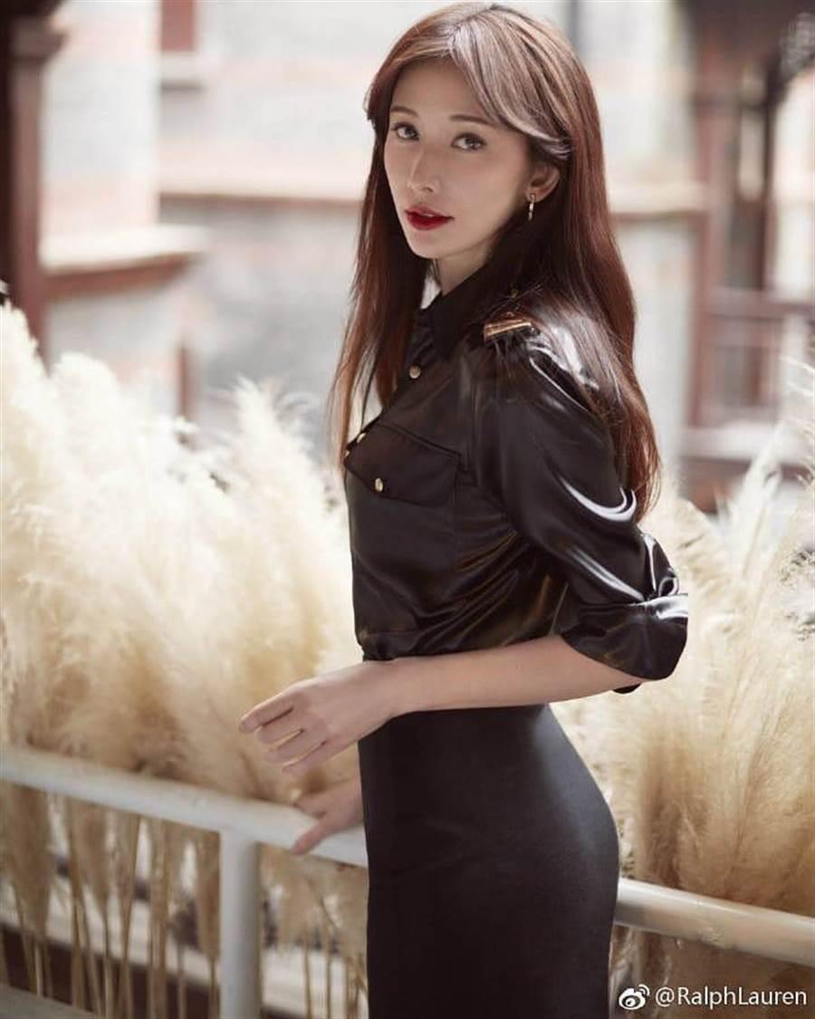 林志玲是許多男粉絲的女神。取自微博