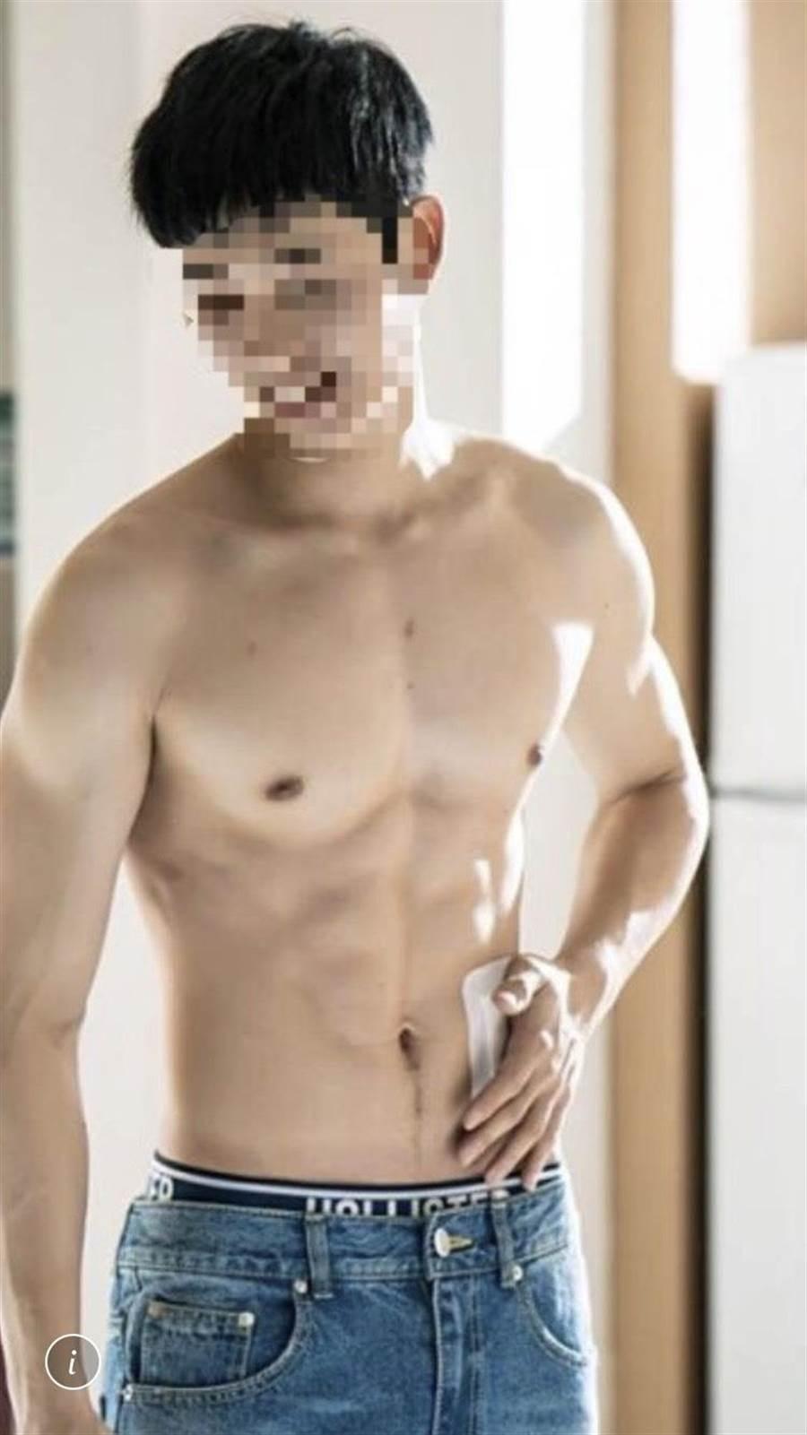 詐騙集團盜用帥氣男子照片,佯裝花美男詐騙女性華僑。(林郁平翻攝)