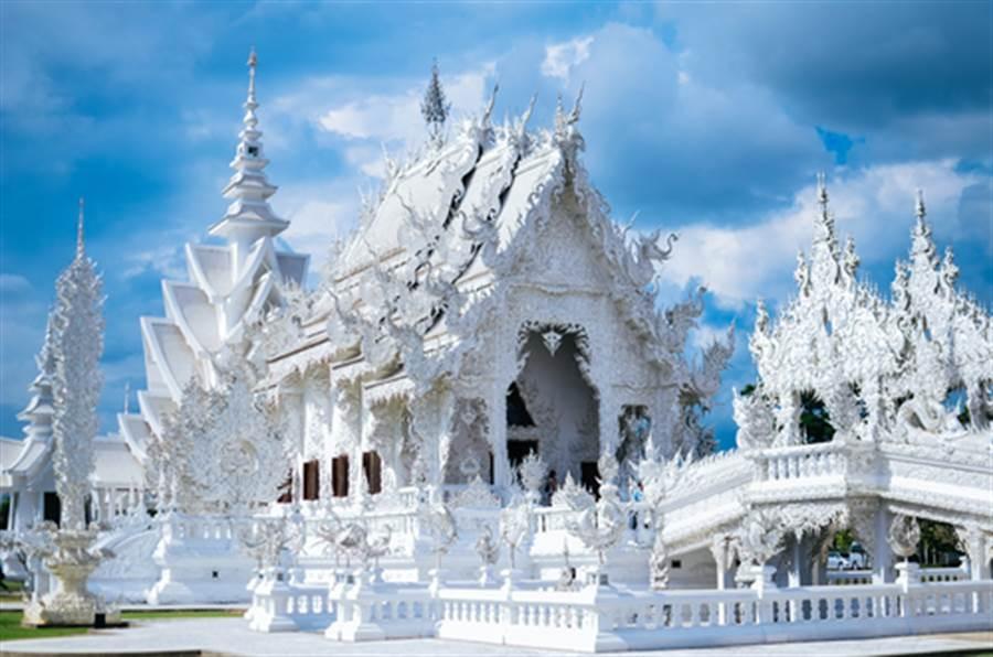 白廟是著名觀光聖地(圖片取自/達志影像)