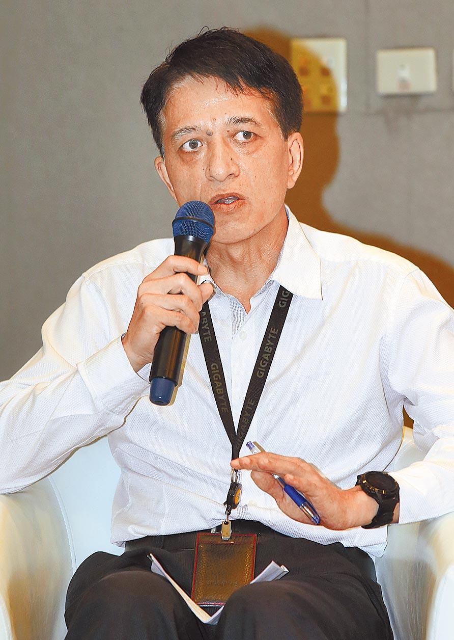 技嘉科技永續發展辦公室處長朱福政。(陳君瑋攝)