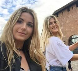 網球辣妹布夏 雙胞胎姊姊超美