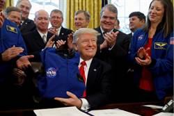 川普:「月球是火星的一部分 」要NASA忘了返月