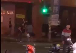 黑衣人打群架 東港警方著手偵辦