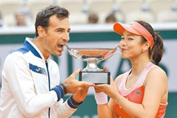 法網賽混雙奪冠 詹詠然二連霸