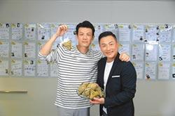 陳志強江宏恩同是龍舟領槳手