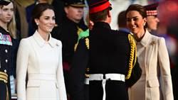 凱特行程滿檔依舊甜美亮相遊行慶典!專家解密皇室愛穿白色的原因