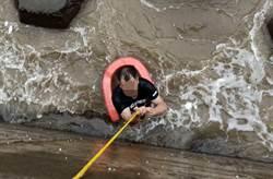 竹圍漁港大風浪 4遊客溺水1女送醫不治