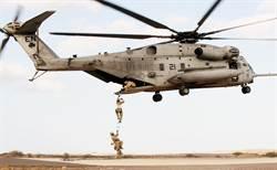 美軍CH-53E直升機連續事故 空中著火與掉零件