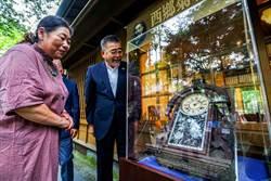 西鄉菊次郎百年掛鐘 捐贈宜蘭典藏