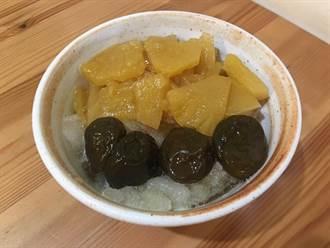 古早味鳳梨冰  吃得到整片果肉