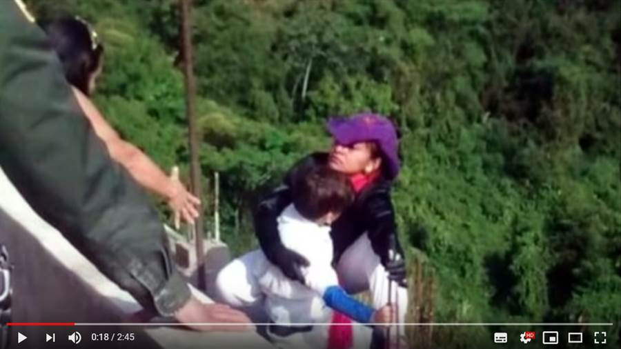 32歲的單親媽媽Jessy Cruz負債累累,帶著兒子自殺 (圖/影片截圖)