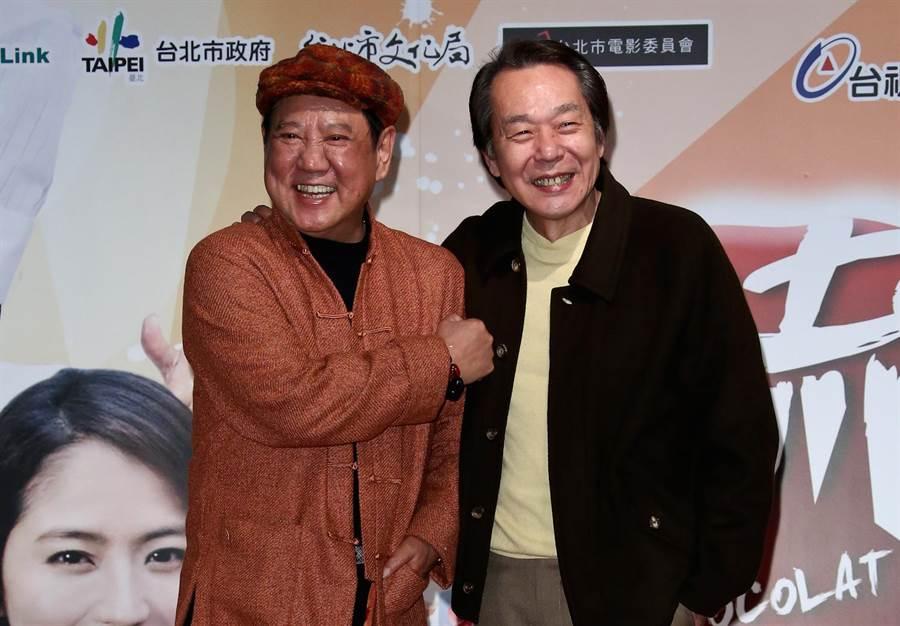 馬如龍、張魁從年輕開始就合作多檔戲。(資料照)