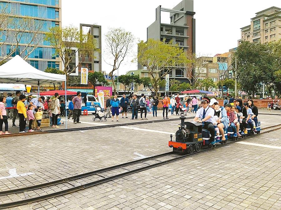 竹北市人口數5月突破19萬人,竹北市內各項親子活動,都能吸引家長帶著孩子共同參與。(本報資料照片)
