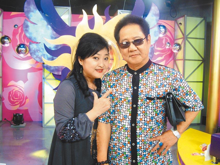 沛小嵐(左)和馬如龍婚姻生活恩愛幸福,令人稱羨。