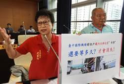 民代撻伐清泉崗機場開發要到2035年