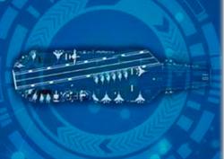 官方海報曝陸004航母 似福特級上載殲15