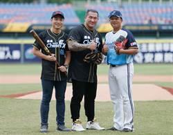 泰山Cheers EX 強氣泡水 力邀「台灣最強男人」館長首度登板 霸氣開球
