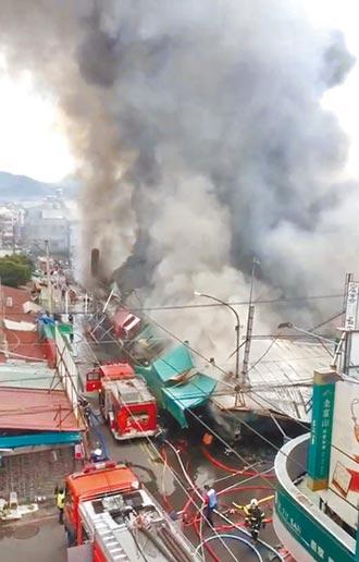 埔里第3市場 燒了了