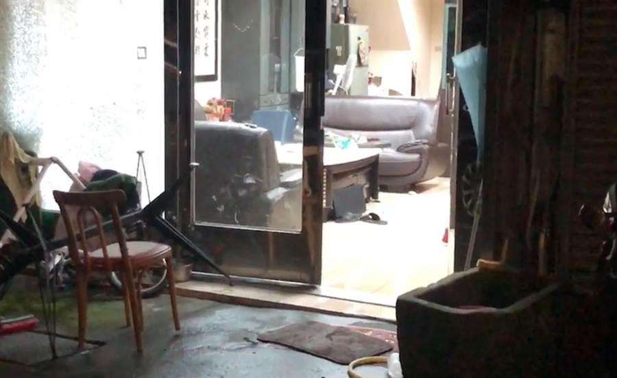 新北市瑞芳區三爪子坑路今(10)日凌晨驚傳槍擊案。(張穎齊翻攝)