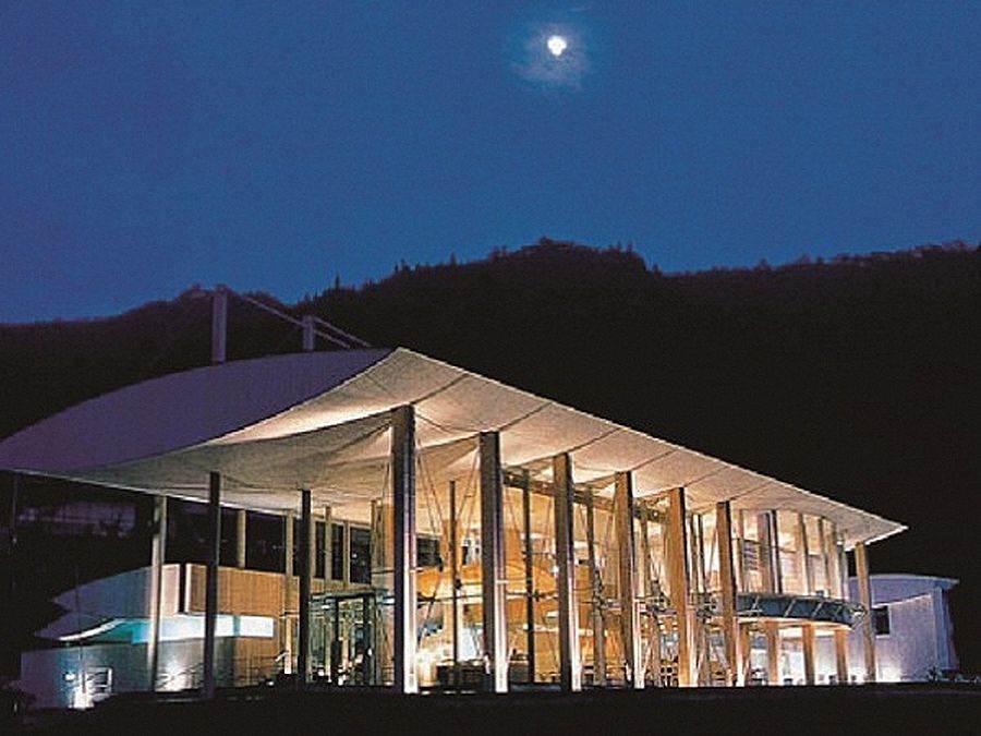 雲之上飯店本館。(圖取自VISIT KOCHI JAPAN官網)