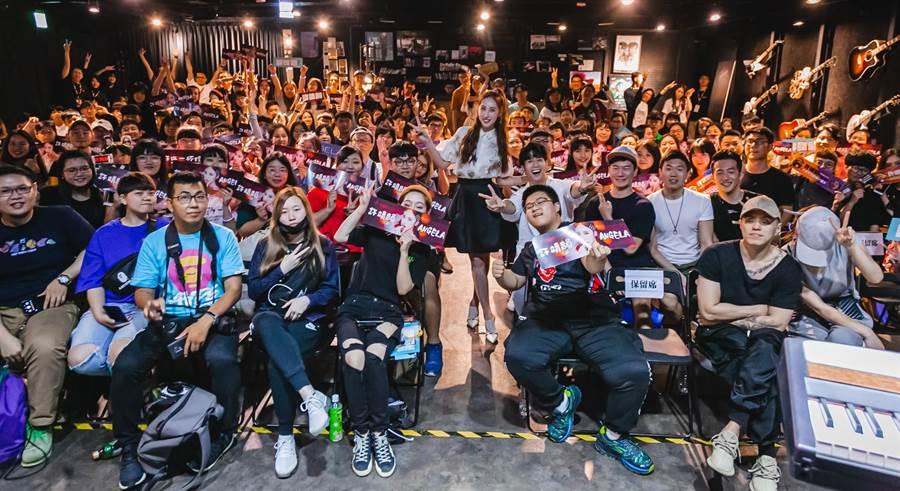 许靖韵首次台湾个唱圆满落幕。