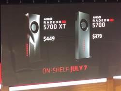 AMD推高階繪圖卡Radeon RX 5700XT 售價僅449美元