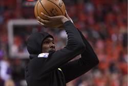 NBA》專家:KD回歸首戰效率恐不高