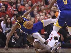 NBA》巴克利怒斥勇士不該讓KD上場