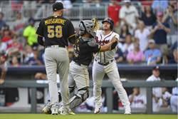 MLB》開賽就砸人 勇士海盜對峙罰下3人