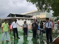踏勘雲林縣內國小設施 立委爭取改善學校設備