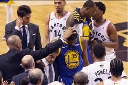 NBA》KD阿基里斯腱受傷 勇士總管淚崩