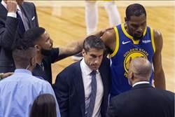 NBA》神奇三分球救命 柯瑞與克雷心疼KD