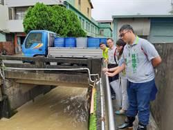 大里久居橋又傳淹水 水利局將設溝中溝