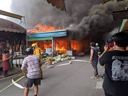 埔里第3市場大火後 改建與否成話題