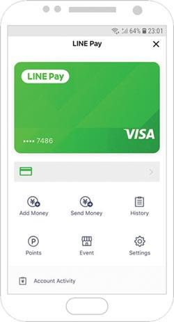 Visa攜LINE Pay 推數位支付