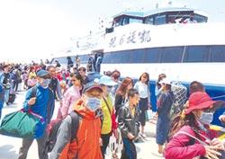 澎湖觀光人數 創歷年單月新高
