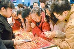 人行猛買黃金 中國大媽不跟進