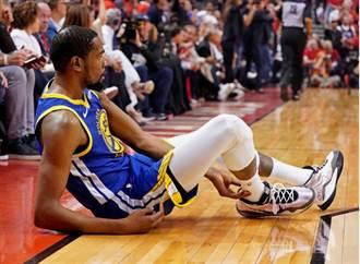 NBA》杜蘭特腳筋斷裂影片 很可怕不要看