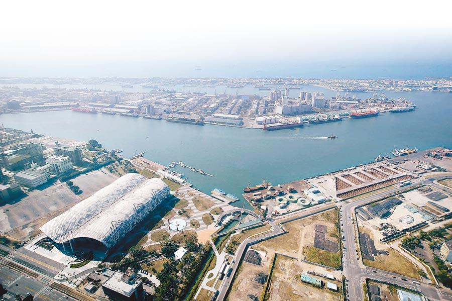 圖為亞洲新灣區鳥瞰景。(本報資料照片)