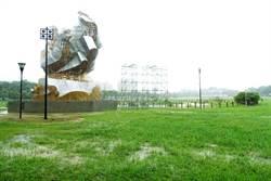 積水嚴重!雲林挺韓大會移至斗六人文公園旁馬路